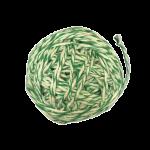 Шпагат для колбас хб бело-зеленый 100 м