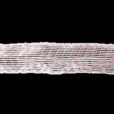 Формовочная сетка бело-красная 100 мм 5 м